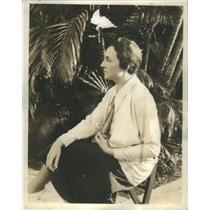 1930 Press Photo Lucy Parker Fashion Coordinator - RSC97129