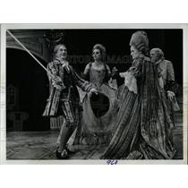 "1970 Press Photo ""School for Scandal"" Stratford - RRW77263"