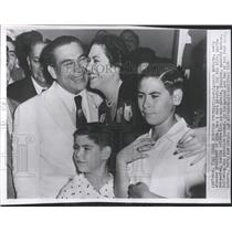 1954 Press Photo Newly Fulgencio Batista Cuba President - RRX84611