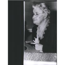 Press Photo Mrs. Edith Macai, 68 years old, Undercover Agent - RSC95271