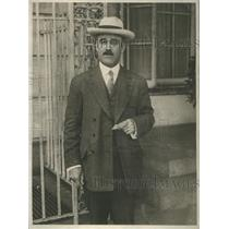 1919 Press Photo Sener Bonillas Mexican diplomat - RSC45283