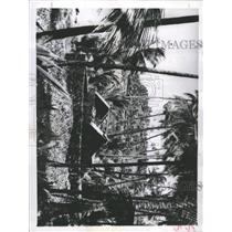 1957 Press Photo Devil Island Blockhouse Capt Alfred - RRX94427