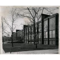 1956 Press Photo Crown Hall Illinois Institute Mecca - RRW65673