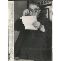1941 Press Photo John Lewis President United Mine Workers