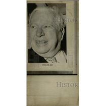 1973 Press Photo Charlie Chaplin English Actor Director - RRW80807