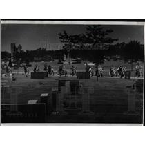 1971 Press Photo Craig Pintler Funeral St Mary Cemetary - RRW91557