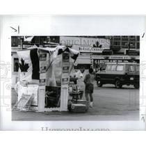 1991 Press Photo Detroit Windsor Tunnel - RRX56191