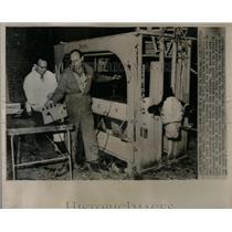 1961 Press Photo Stouffer Cornell University Ithaca - RRX52193