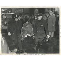 1954 Press Photo August Gessner Fire Heart Attack - RRW53563