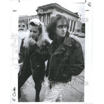 1990 Press Photo Street Fashion Michigan Cities Royal O