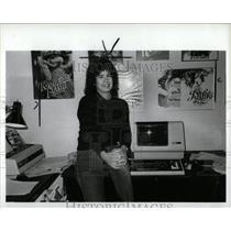 1986 Press Photo Julia Grice Author