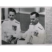 1960 Press Photo John Davidson Naval Academy Melson