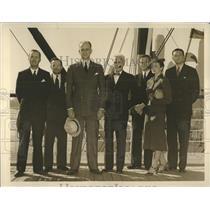 1929 Press Photo US Delegation sails American UN Pan - RRX82191