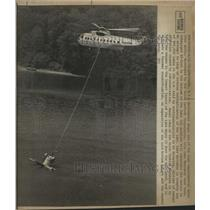 1973 Press Photo Helicopter Drops Aeration Units - RRW41315