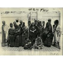 1934 Press Photo Tunisian Village Fair SS Ile De France - RRX75813