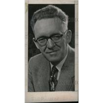 1956 Press Photo Floyd McCall Denver Post - RRX40929