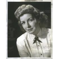 1950 Press Photo Cathy Lewis American Actress - RSC02157