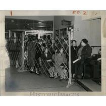 1953 Press Photo Wurlitzer White Elephant Daily News - RRW01193