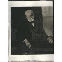 1923 Press Photo William Holabird Architech - RSC01157