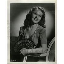 Press Photo Adelaide Bishop American Actress Soprano - RRW16737