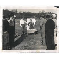 1950 Press Photo Target Police School - RRW53707