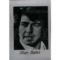 1980 Press Photo Alan Bates British Actor - RRX47225