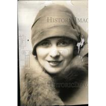 1929 Press Photo Dorothy Peterson Film Actress Chicago - RRX38411