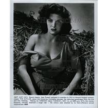 """1943 Press Photo Jane Russell In """"The Outlaw"""" - RRX72575"""