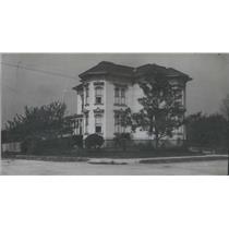 1907 Press Photo View of a House - RSC86655
