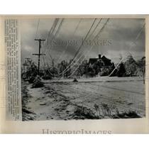 1964 Press Photo Glenville New York Ice Damage - RRW64275