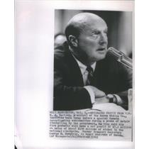 1962 Press Photo W.A. Marting president of Hanna Mining Co. testifies before spe