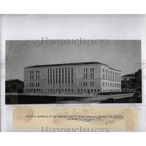 Press Photo John K. Mullen Memorial Library. - RRX51935