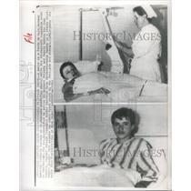 1964 Press Photo CZECHOSLOVAKIA REFUGEES HOSPITAL - RSC23803