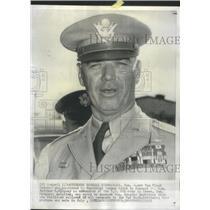 1957 Press Photo James Van Fleet Army Commander - RSC37879