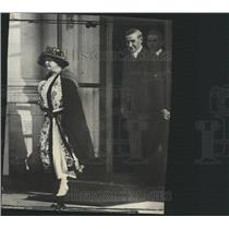 1923 Press Photo Woodrow Wilson Calvin Coolidge wife - RRX88801