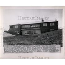 1964 Press Photo Leavenworth Prison Warden Residence - RRX75155