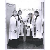 1963 Press Photo Detroit Theologians