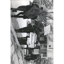 1970 Press Photo Native Americans/Protest/Colorado - RRX93363