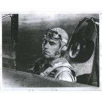 1979 Press Photo Midway Charlton Heston Navy pilot Batt