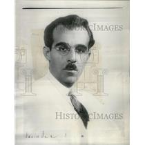 1935 Press Photo Ernoe Rapee Symphony Conductor Chicago - RRX37485
