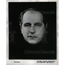 1957 Press Photo Joseph Cunninger TV Radio Artist Hugh - RRW14929