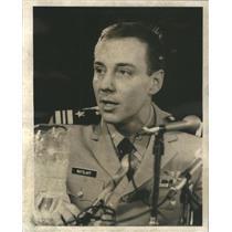 1973 Press Photo Lt. Richard Ratzlaff, shot down and POW in Vietnam War