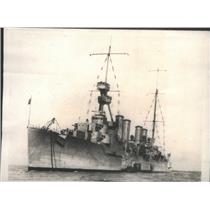 1923 Press Photo The Scout Cruiser Omaha of the U.S. Navy. - RSC87051