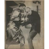 1971 Press Photo Boxing Heavyweight champion Joe Frazier - RSC59261