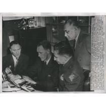 1958 Press Photo Tommy Rawson, Henry Lamar,Otis M Whitney,Tommy McFArland