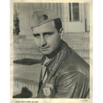 "1944 Press Photo Capt. Weldon E. ""Dusty"" Rhoades American Pilot - RSC58025"