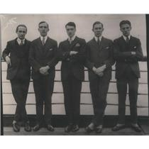 1923 Press Photo Members of the Oxford University Relay Team - RSC86593