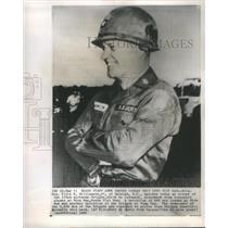 1965 Press Photo General Ellis W Williamson 173rd Airborne Brigade Viet Nam