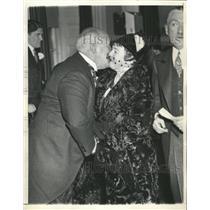 1933 Press Photo Eugene Comesky John O'Brien mayor - RRX87619