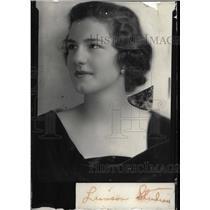1937 Press Photo Muriel Stokes - RRW99697
